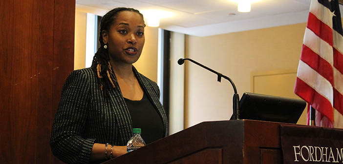 Aisha Holder, Ph.D., '15 Talks Racial Microaggressions and Coping Strategies for Black Women
