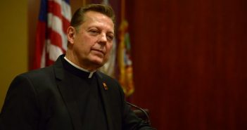 Rev. Dr. Michael Pfleger speaks at Fordham University