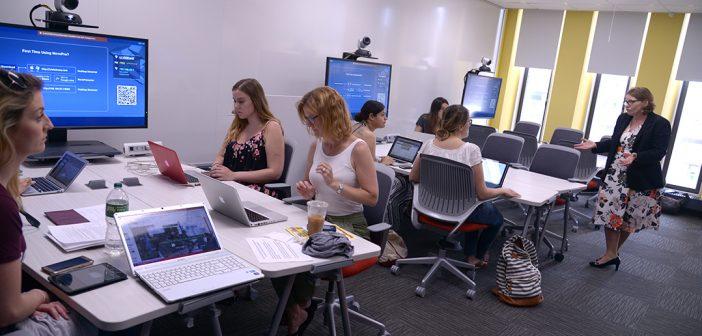 New Lab Helps Teachers Teach