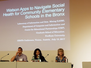 Fordham team presents at GBATA conference