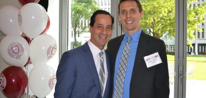 Fordham Reunion Welcomes Back Alumni, Young Rising Star Award Presented