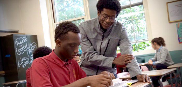 School Ties in the Bronx: Fordham and Cardinal Hayes High School