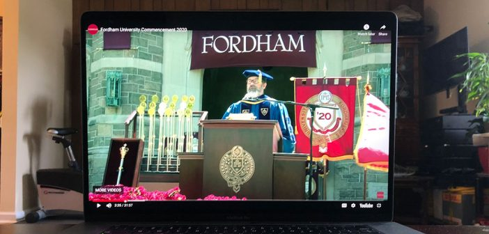 Celebrating Fordham's 175th Commencement: Together in Spirit