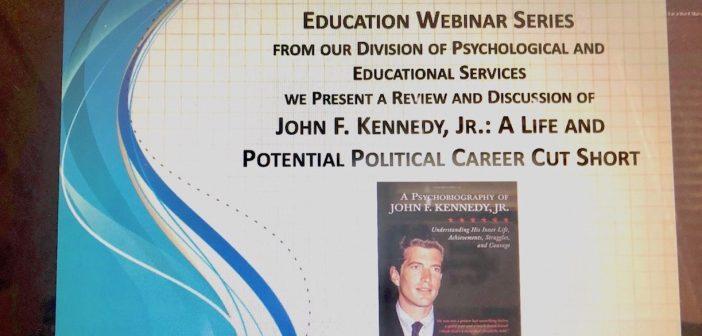 GSE Webinar Series Presents John F. Kennedy, Jr.: A Life and Potential Political Career Cut Short
