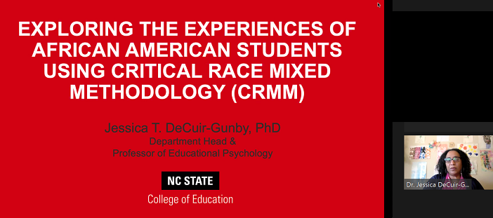 Critical Race Mixed Methodology Author, Professor, and Researcher: Acknowledge the Status Quo and Remain Hopeful