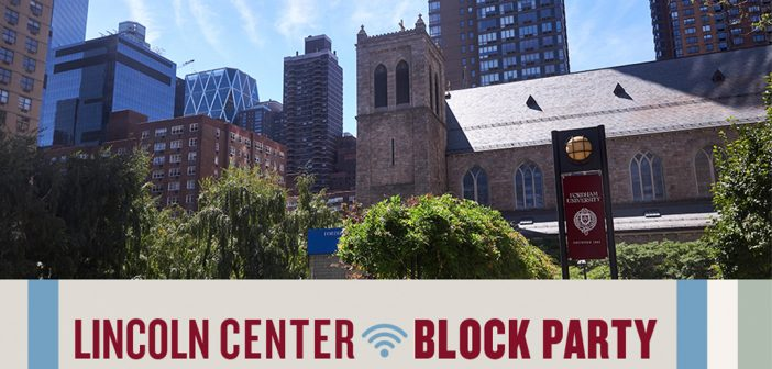 Lincoln Center Block Party Brings Graduates Together Virtually
