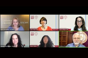 A screenshot of the FCLC deans panel.
